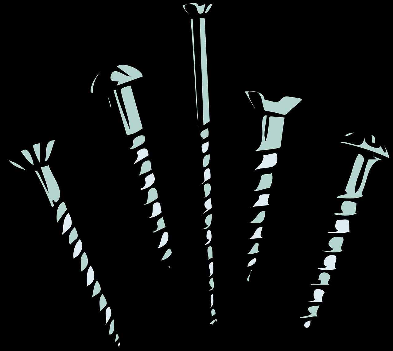 screws, screw, nail
